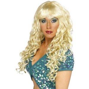 Peruk siren blond