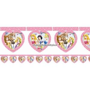 Disney prinsessa & djur vimpelbanderoll - 2m