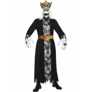 Demonisk kung maskeraddräkt