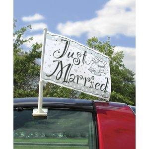Bilflagga - Just married