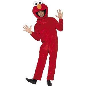 Sesame Street Elmo maskeraddräkt - Medium