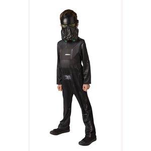 Death Trooper budget maskeraddräkt för äldre barn