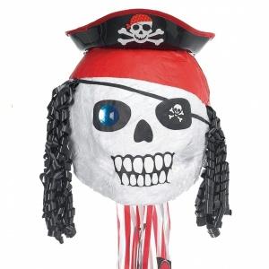 Pirat dödskalle- pinata