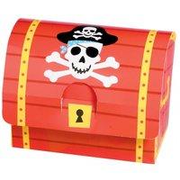 Piratskatt partybox - 8 st