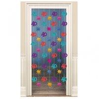 40-års dörrdraperi dekoration - 2 m