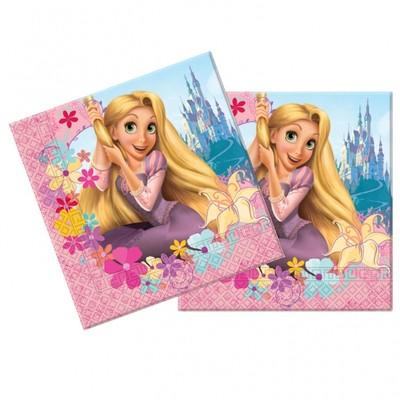 Disney Rapunzel servetter 2-lags - 20 st