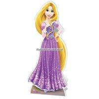 Rapunzel pappfigur - 163cm