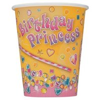 Pappersmuggar - Birthday princess - 27 cl 8 st