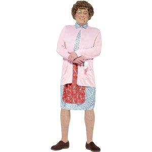 Mrs Brown maskeraddräkt