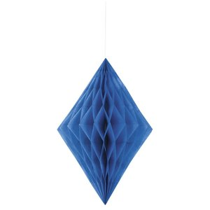 Honeycomb diamant - Blå