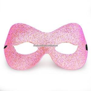 Domino rosa maskeradmask