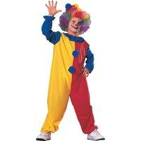 Clown maskeraddräkt barn