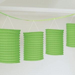 Girlang med gröna lyktor - 3.65m