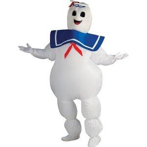 Stay Puff Ghostbusters maskeraddräkt