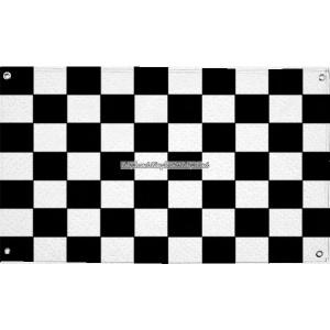 Rutig tyg flagga - 1.5 m