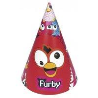 Furby partyhattar - 6 st
