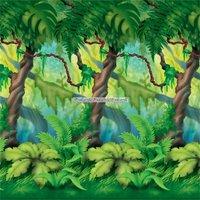 Djungelträd dekorbakgrund