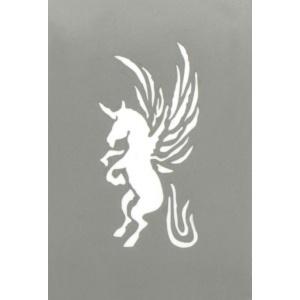 Tatueringsschablon - Unicorn