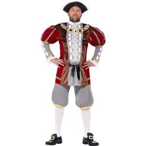 Henry VIII deluxe maskeraddräkt