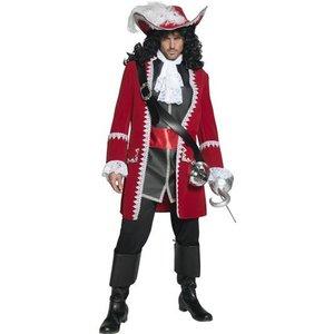 Pirat kapten maskeraddräkt - Medium