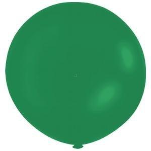 Jätteballong - Grön 80 cm