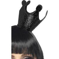 Elak drottning krona - svart
