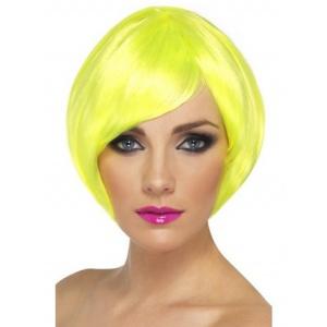 Kort page neongul peruk