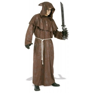 Galen munk maskeraddräkt