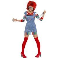 Chucky, den onda dockan maskeraddr�kt - damstorlekar
