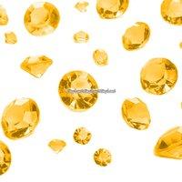 Guldfärgade bordsdiamanter - 100 g - 100 g