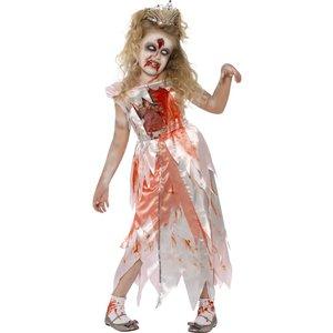 Zombie sovande prinsessa maskeraddräkt
