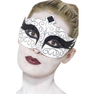 Gotisk svan - ögonmask vit