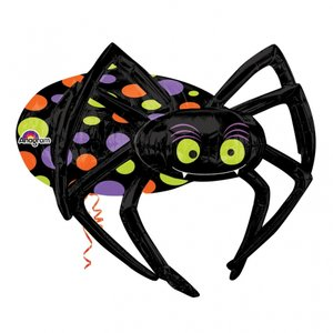Folieballong - Halloween Spider Multi