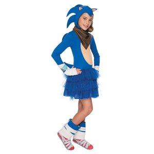 Sonic maskeraddräkt - Barn