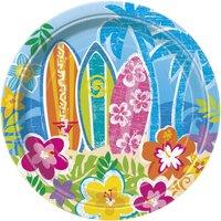 Assietter - Beach party - 18 cm 8 st