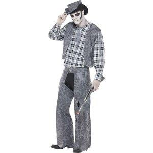 Spökstadscowboy maskeraddräkt