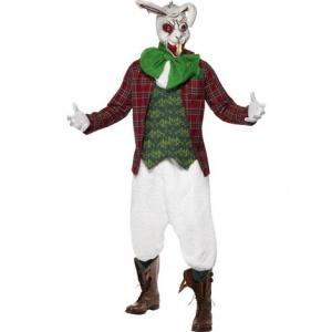 Galen kanin maskeraddräkt