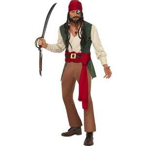 Karribisk pirat maskeraddräkt