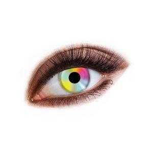 Färgade kontaktlinser - Hippie